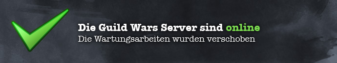 Guild Wars Server Offline ab 09:01 MEZ am 10.08.2010